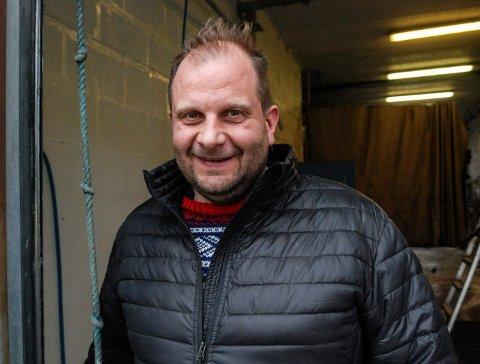 ILDSJEL: Ronny Andersen arrangerer høstmarked ved Fjellhandelen i Øygardsgrend i Nore og Uvdal 7. oktober.
