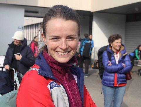 NM-BRONSE: Ingjerd Myhre løp sisteetappen for Tyrving, spm sikret seg NM-bronsen. FOTO: ERIK BORG