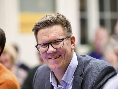 FORSVARER: Geir Cato Kristiansen forsvarer hvorfor han stemte for full utbygging av Klinkenberghagan.