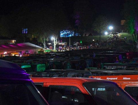 Til tross for noen hendelser er politiet fornøyd etter landstreffet på festningen fredag.