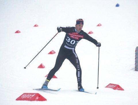 FOR LANGT FRAM I TID: Trym Malmo fra Grong tar en skisesong av gangen og mener han er for ung til å lege store planer mot ski-VM i Trondheim i 2025. Unggutten slår likevel fast at det hadde vært rått å stille til start i mesterskapet.