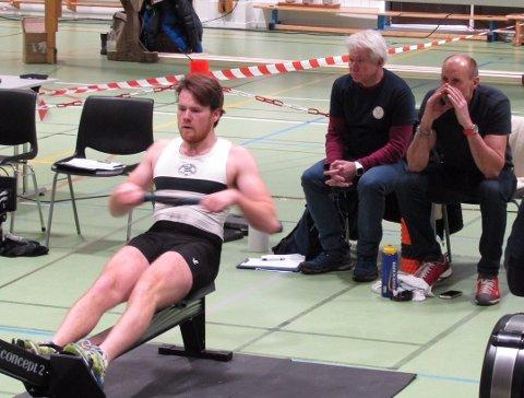 Nicolay Bjønness Yngsdal sekundert av Lars Bjønness.