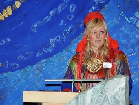 BEKYMRET: Fylkesråden for plan, økonomi og kultur i Troms og Finnmark fylkeskommune, Anne Toril Eriksen Balto (Sp), ser med stor bekymring på krisen ved Nordnorsk kunstmuseum.