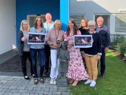 KOMITEEN: Her er komiteen for Industriprisen 2019. Fra venstre Kaja Haug, Kristin Brovold, Kjell Smedsrud, Mette Dalseg, Anita Hager, Tove Løkken, Marit Amundsen og Jon Sandvik.