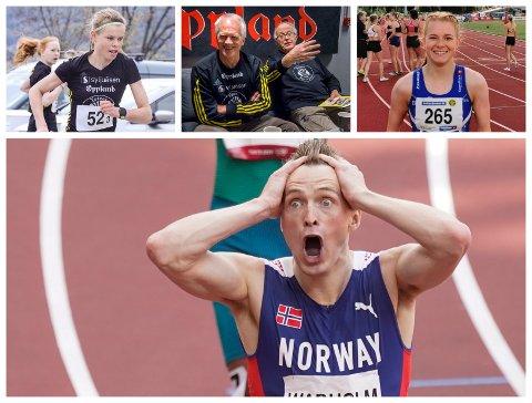 HISTORISK: Karsten Warholms OL-gull vil det bli snakket om i lang tid tror lokale friidrettsutøvere og trenere.