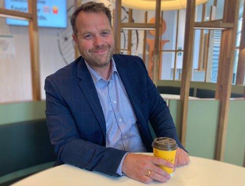 GÅR AV: Adminsitrerende direktør i McDonalds Norge, Børre Kleivan fra Kolbotn, velger å fratre sin stilling.