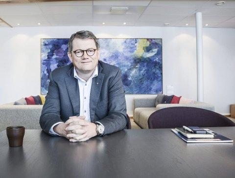 REALIST: Morten Fon synes han og de andre ansatte er heldige som er i en bedrift som går bra. Samtidig forbereder de seg på tøffere tider.