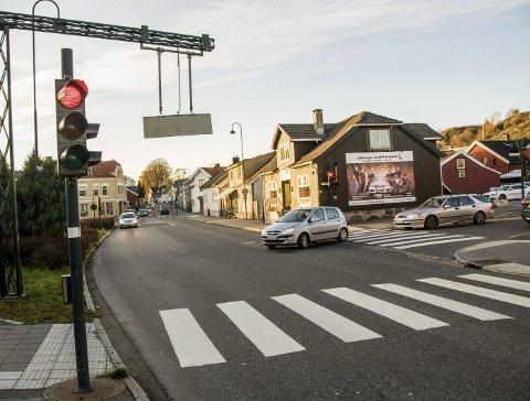 Mistet førerkortet: Larvik-kvinnen ble tatt av politiet på Torstrand da hun kjørte bil etter å ha røyket hasj. Arkivfoto