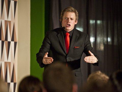 Lars Hansen: det lokale navnet på fredagens show er Lars Hansen som er tilbake i Larvik.arkivfoto  Foto: Mats Grimsæth *** Local Caption ***