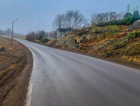 Bekymret: Ivar Andvik har uttrykt bekymring for arbeidene med ny sykkel- og gangvei med tanke på grunnforholdene i området.
