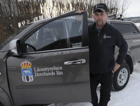 KRITISK: Naturoppsyn Lasse Rähnfeldt i länsstyrelsen for Jämtland län.