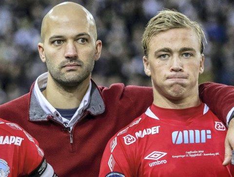 VEIENE SKILLES: Luis Pimenta forlater KIL, mens Martin Ellingsen ser ut til å fortsette i rødt og hvitt. (Foto: Ole-Johnny Myhrvold)