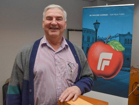 Frank A. Buen (Foto: Bjørn-Frode Løvlund)