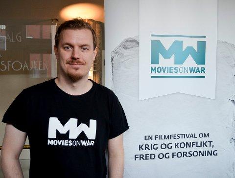 SAMTALE OM UTØYA: Festivalsjef Øystein Egge inviterer til samtale om Utøya etter visningen av «Generasjon Utøya» torsdag kveld.