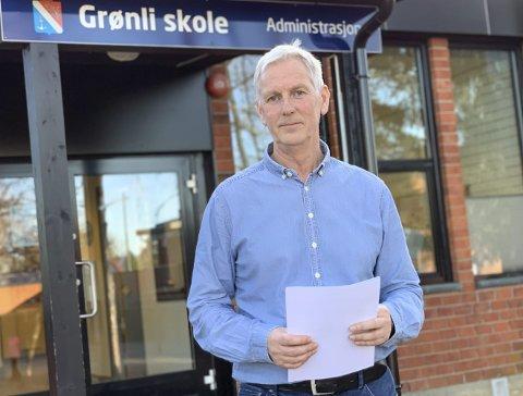 REKTOR: Bjørn Kronstad er rektor på Grønli skole.