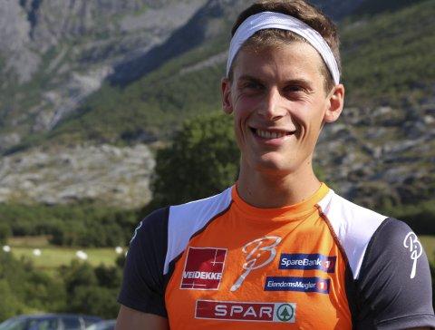 Rolf Einar Jensen slik de fleste kjenner ham fra før.