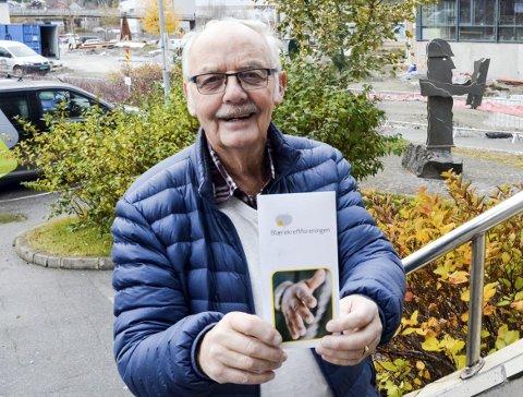 I spissen: Arild Lie stiller seg i spissen for å danne ei lokal blærekreftforening. Foto: Toril S. Alfsvåg