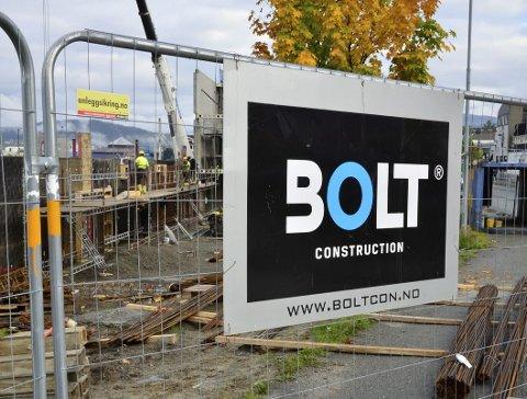 INNBRUDD: Retten mener det er bevist at det var de tre tiltale som stjal fra Bolts byggetomt. Foto: Hugo Charles Hansen