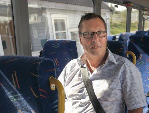Roger Stensen fra Hemnesberget gir seg som driftsdirektør i Nordlandsbuss, som søker etter ny.