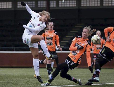 Lisa-Marie Karlseng Utland kom inn i det 57. minutt. Da ledet FC Rosengård 2-1. Tre minutter senere utlignet Kristianstads DFF.