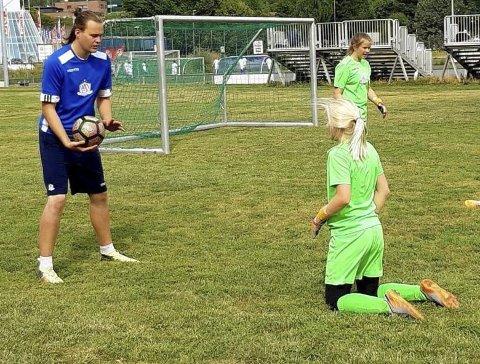 SATSER: Selfors UL-keeper Tora Eline Jarlsdatter Samuelsen har den siste uka på treningscamp i Oslo.