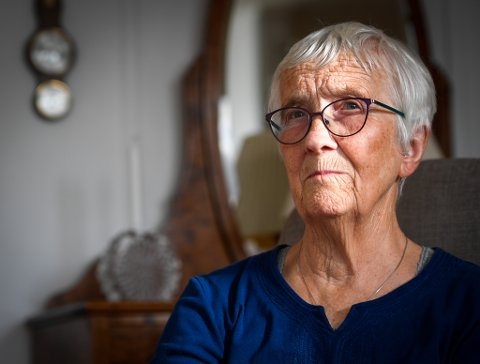 Jorunn Bech-Hansen var 11 år gammel da krigen kom til Hemnes. - Det var forferdelig.