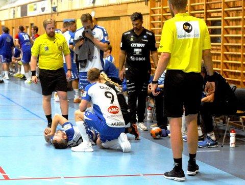 En bekymret Drammen-trener Kristian Kjelling mener hele laget ble preget av at kaptein Gøran Sørheim røk korsbåndet tidlig i kampen mot LFH 09.
