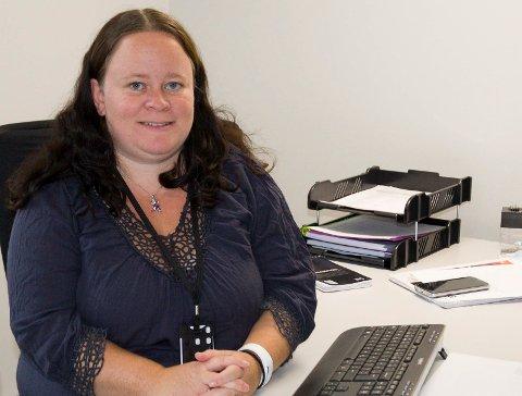 BLANDEDE FØLELSER: Cecilie Formo Eriksen ser fram til ny og spennende jobb i hjembygda, men synes det er trist å forlate Sokna skole.