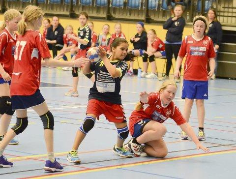 Ringerikscup i håndball: Mandag starter RingeriksCup i håndball med rundt 800 spillere i aksjon. Cupen varer en uke til ende.Foto: Arne Tvervaag