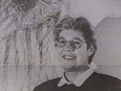 1993: Slik så hun ut for 26 år siden. Hva heter hun?
