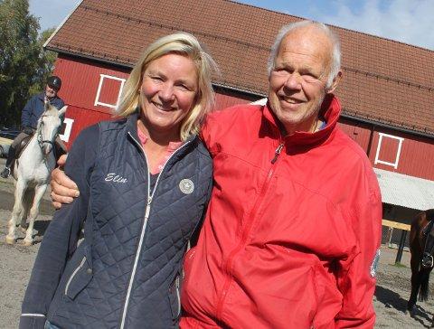 Daglige ledere: Erik Mangerud var daglig leder på Sørum fritidsgård i 28 år. Elin Heistad er daglig leder i dag, det har hun vært i 11 år. Foto: Britt Hoffshagen