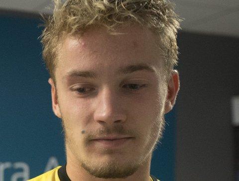 EM-DEBUT: Erik Tobias Sandberg og Norge spilte 1–1 mot Irland i Jerevan i åpningskampen i U19-EM. Foto: NTB scanpix
