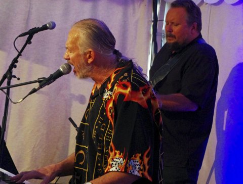 «MR. BLUES»: Reidar Larsen har stått som en bauta i norsk blues siden tidlig på 80-tallet. ALLE FOTO: PER D. ZARING