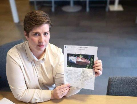 """NYANSATT: Marte Fjøse leder prosjektet """"Kirkevakten""""."""