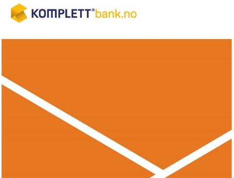 AKSJEN HAR FALT: Komplett Banks aksje har falt 19 prosent hittil i år.
