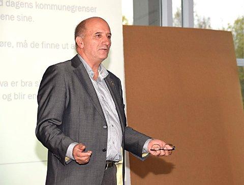 Håvard Jensen (Frp) kjemper for at Indre Østfold kommune skal innføre statlig finansiert  eldreomsorg.