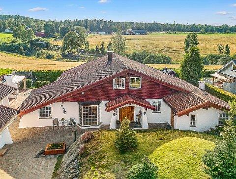 KUPPET: Det var budkrig på denne boligen i Spydeberg allerede før fellesvisningen.