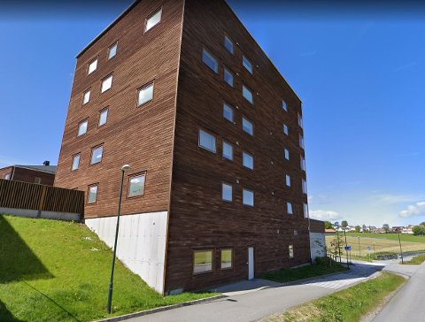 Toppleiligheten i Sandangersvingen 4 har en prisantydning på 8,5 millioner kroner.