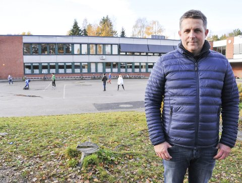 UTFORDRINGER: Det har vært utfordringer med ventekarantener og karantener ved Stigeråsen skole den siste uka.