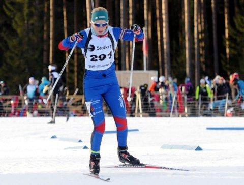 Ida Emilie Herfoss overbevist med tredjeplass under junior-NM i Granåsen.