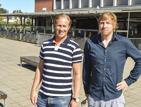 Festival: Daniel Christensen og Eirik Madsen i Jimmys står bak Ølfestivalen i Porsgrunn kommende helg.