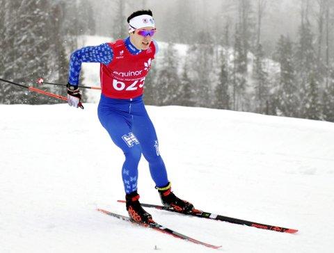 Rask: Eirik Kjøl Tornes går fort både med og uten gevær. I påska imponerte han i Ekebergsrennet.