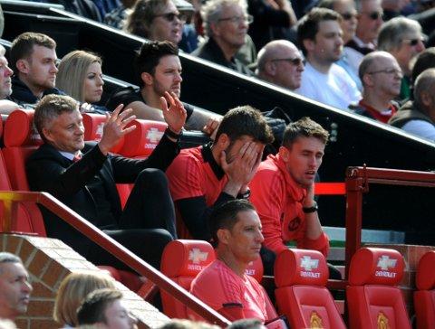Ole Gunnar Solskjær hadde grunn til å fortvile da Manchester United tapte 0-2 hjemme mot nedrykksklare Cardiff.