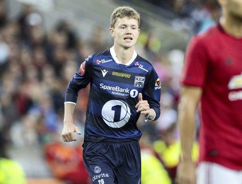 Max Williamsen spilte mot Manchester United i sommer. Nå er han klar for spill på landslaget.