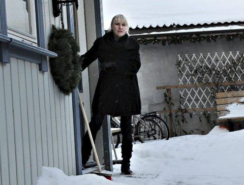 TRYGG RAMME: Daglig leder Heidi Tanum og hennes stab har  også denne julen hatt stor pågang. Foto: Marit Borgen