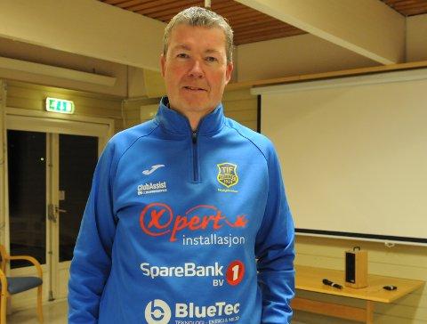 LEDERJAKT: Steinar Schjesvold styrer fotballgruppa til ny leder kommer på plass.