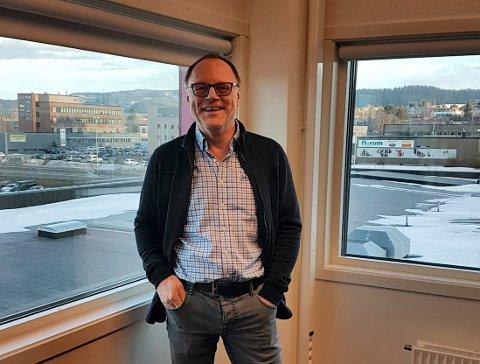 AVSLAG: Styreleder Arne Ivar Sundseth i Skarnsundet Montessoriskole SA har ikke mistet motet, og kjemper videre for en etablering av skolen etter avslaget fra Udir.