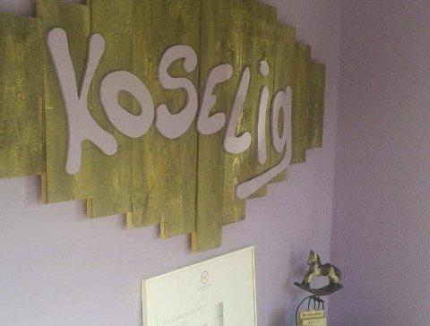 Sentralt plassert: Kaféen «Koselig» var etablert i de gamle lokalene til lensmannskontoret i Myra.