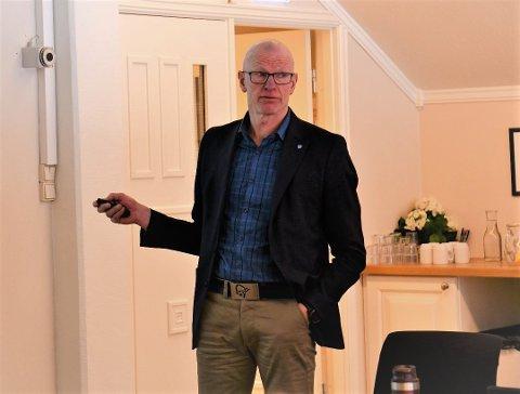 LA FRAM SAKA: Kommunedirektør Martin Sæbu.