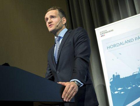 Administrerende direktør Jan Erik Kjerpeseth i Sparebanken Vest.